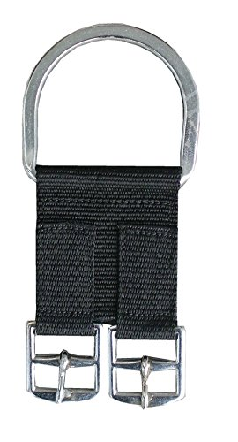 Sattelgurt Converter aus Nylon | Adapter für Sattelgurte 1 Stück Nylon 2-Buckle Saddle Girth Converter (Cinch) (Gurt Western)