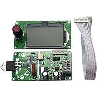 OUNONA Mehrfachmuster-Kodierer-Doppelimpuls-örtlicher Schweißer-gegenwärtige Zeit-Bedienfeld-LCD-Bildschirm 40A