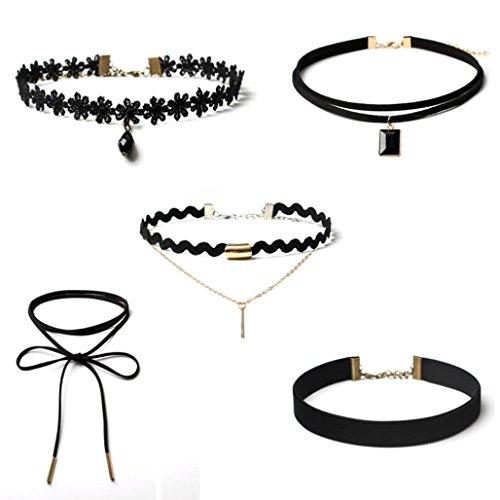 oyedens-5pcs-gothic-necklace-set-retro-black-velvet-classic-tattoo-lace-choker-chain-5pcs