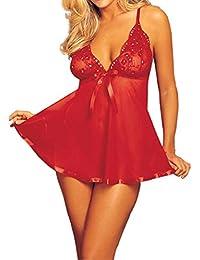 OverDose Conjunto de lencería Erotica Mujer Perspectiva Vestido de la Honda + G-String Tallas