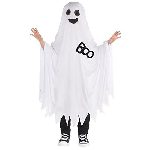 Ghost Cape Childrens Fancy Dress Halloween Costume
