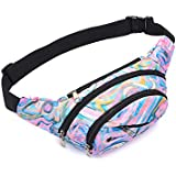 PALAY® Multi-Function Men Women Waist Packs Pouch Chest Bag for Jogging Running Riding
