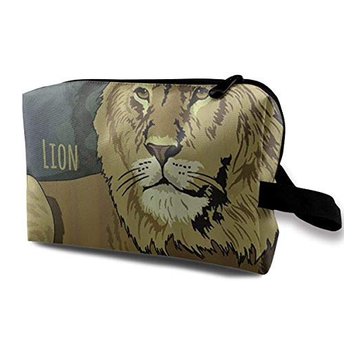 Camo Make-up-kit (Reise-hängende Kosmetiktaschen Lion Multi-Functional Toiletry Makeup Organizer makeup kit bag)