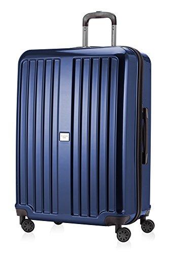 HAUPTSTADTKOFFER - X-Berg - Hartschalenkoffer Koffer Trolley Rollkoffer, 75 cm, 126 Liter, TSA, Dunkelblau