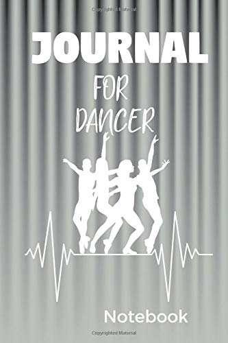 Journal for Dancer: Notebook with 100 blank graph papers por Ansgar Ledan