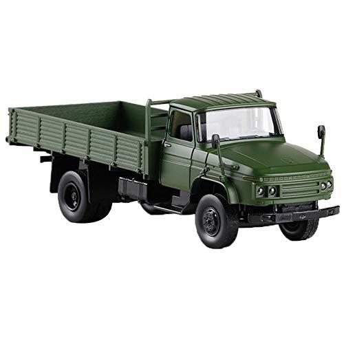 TRULIL Push and Go Toys Reibungsbetriebenes LKW-Auto-Spielzeug, Mini-Cars, Rückziehen und Gehen, Frühschulbildung, Kunststoff, Modell-Spielzeug-Sets, Fahrzeug-Spiel für Kinder ab 3 Jahren grün