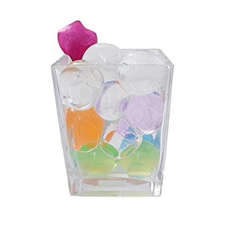 L'Eau Aqua Perles Cristal Xtra Xtra Grand géant Jumbo Balles Vase Décoration de mariage et des arts & Crafts–50pcs par Trimming