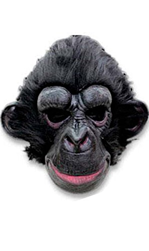 Generique - Schimpansen-Maske für Erwachsene
