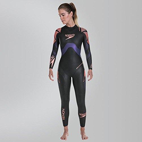 Speedo Fastskin Photon Bañador, Mujer, Negro (Purple), S