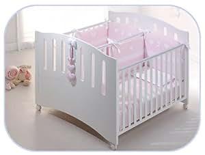 Zwillingsbett Gemini Kinderbett für Zwillinge Buchenholz