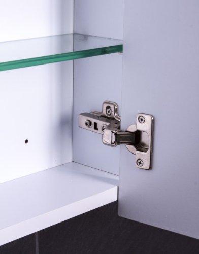 Spiegelschrank 80 cm – Modell Cube 80 von Galdem - 3