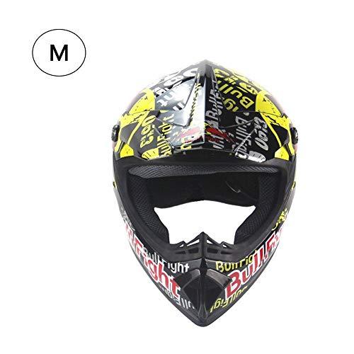 StageOnline Casco de Motocross - Personalidad Four Seasons Cascos de Motocross Hombres y Mujeres Casco de Bicicleta de montaña Casco Integral