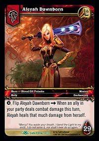 Aleyah Dawnborn - - - Through the Dark Portal - Uncommon [Toy]   Durable Service  19321d