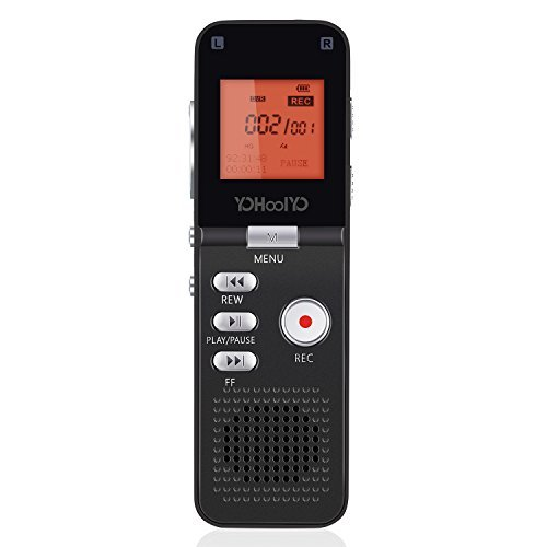YOHOOLYO 8GB Dictaphone...