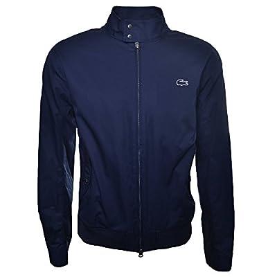 Lacoste Men's Navy Blue Harrington Jacket by Lacoste