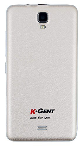 "Surya KGENT 3 Touch Screen 3.5"" Dual Sim Mobile Phone in White Color"