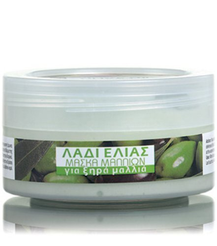 Olive Oil Hair Mask for Dry Hair 200ml by Bodyfarm