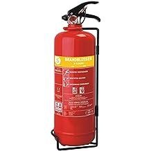 Extintor de incendios Smartwares SB2NL – Espuma– 2kg – Clase incendio AB – Incluye soporte de montaje
