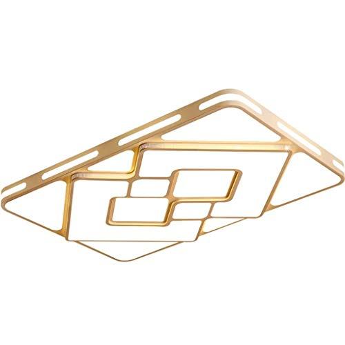 Hongbanlemp Deckenleuchte Deckenleuchte Panel Wohnzimmer Deckenleuchten Home LED-Deckenleuchten Schlafzimmer Rechteckige Flush Mount Deckenleuchte Restaurant Leuchten Bürodeckenleuchten -
