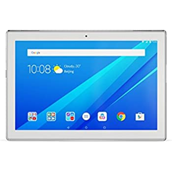 Lenovo za2j0056de 25,654cm (10,1pulgadas) Tablet PC (Qualcomm Snapdragon Quad-core, Wi-Fi, Android 7.0, cámara de 5MP/2MP, Dolby Atmos) blanco Weiß 25,654