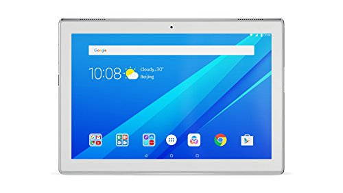Lenovo Tab4 10 25,5 cm (10,1 Zoll HD IPS Touch) Tablet-PC (Qualcomm Snapdragon APQ8017, 2 GB RAM, 32 GB eMCP, Wi-Fi, Android 7.1.1) weiß