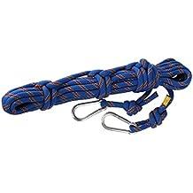 10m 10mm Escalada Al Aire Libre Cuerda De Rescate Rapel Cuerda De Seguridad Azul
