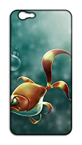 Happoz Angry Gold Fish Samsung Galaxy ON Nxt pouch Mobile Phone Back Panel Printed Fancy Pouches Accessories Z849
