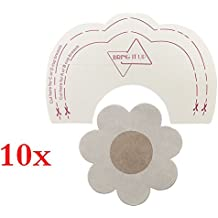 SHINEstyle 10 Pares Desechable Pegatinas Instant Bare Lift Breast Enhancer Tape