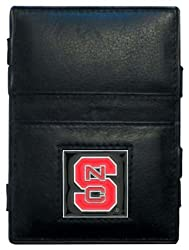 NCAA North Carolina State Wolfpack Leather Jacob's Ladder Wallet
