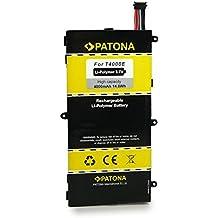 PATONA Batería T4000E für Samsung Galaxy Tab 3 Kids | Galaxy Tab 3 7.0 | SM-T210 | SM-T2105 | SM-T210R | SM-T211 [ Li-Polymer, 4000mAh, 3.7 V ]