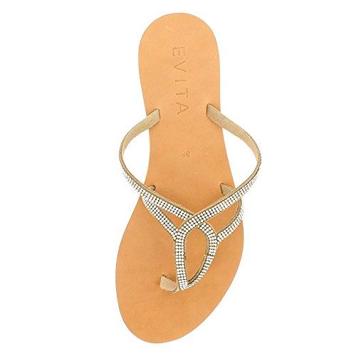 Evita Shoes  Greta, Sandales pour femme nu