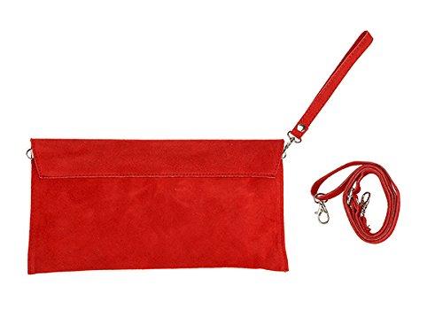 scarlet bijoux, Poschette giorno donna Rosso (rosso)
