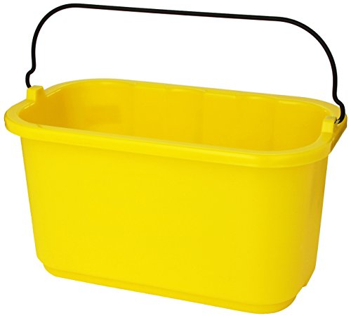 Rubbermaid Commercial Productos fg9t8200yel sanitización Caddy, carro de limpieza Accesorios, amarillo