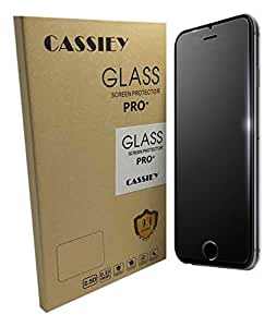CASSIEY Amazing PRO+ 0.3 mm 2.5D 9H Hardness Anti-Explosion Tempered Glass Phone HD Screen Protector For iPhone 7 Plus - Retail Packaging - Transparent With all Finger Print Sensor , Light Sensor , Camera Cutting and Installation Kit with Advanced Dust Remover