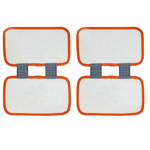 gs-Pads für Shark Sonic Duo XTCRU500 KD450W, KD400W, KD450W, SP1000, ZZ500, Z510 Teppich-Reinigungspad, 30,5 x 24,9 cm Red-2 Pack ()
