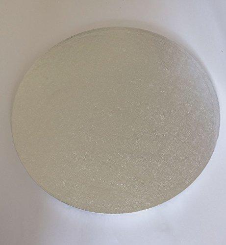 14 Cake-drum Runde (Cake Drum ø 35,5 cm Tortenplatte Tortenunterlage RUND 14 inch Cake Board Höhe 10-13mm)