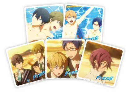 Free! Paper coaster Complete Set (not for sale) (japan import) (Coaster Stock)
