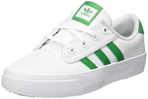 adidas Unisex-Erwachsene Kiel Fitnessschuhe, Weiß Verde/Ftwbla 000, 39 1/3 EU