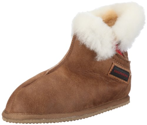 Shepherd Bella 227, Pantofole donna Marrone (Braun/antique cognac)