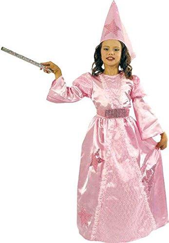 Kinderkostüm fee, 128 cm, Rosa (Kostüme Enfant Fille Princesse Rose)