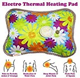 Getko Electric Heat Bag Hot Gel Bottle Pouch Massager Warm for Winter Aches reliever Rectangle Shaped