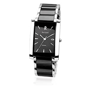 Men's watches 'Pierre Lannier'tight black steel (ceramic).