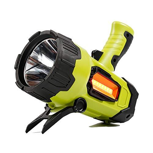 OOFAY& LED Suchscheinwerfer Scheinwerfer mit 4 Modi und Power Bank-Funktion, Wasserdicht Fackel Laterne Taschenlampe Super hell Zuhause Draussen Notfall Jagd