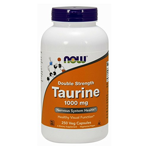 Taurine, Double Strength, 1000 mg, 250 Capsules