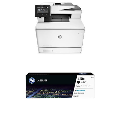 Preisvergleich Produktbild HP Drucker & Toner Bundle: HP LaserJet Pro M402dn Printer + HP 410X Toner (schwarz)