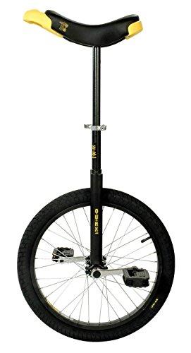 """Qu-Ax® Outdoor-Einrad """"Luxus"""" 26'' Reifen (ø 66 cm), Rahmen Schwarz"""