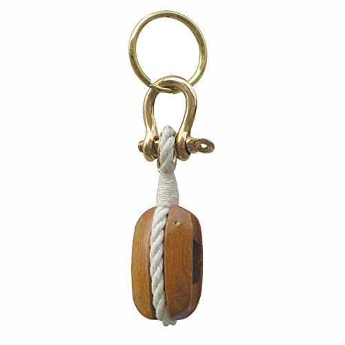 Blockrolle-Schlüsselanhänger - perfekt für die maritime Dekoration