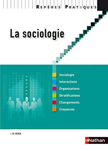 La sociologie par J-M. Morin