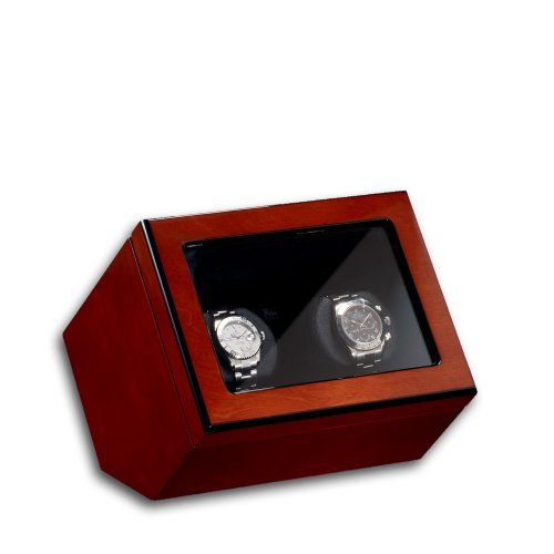 Automatic Watch Winder Cockpit Atlantic 2 by eco Tecknik Perfect for Breitling Rolex Omega Cartier etc