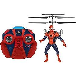 World Tech Toys-Spiderman 2ch Spider-Man Marvel IR helicóptero, 34878
